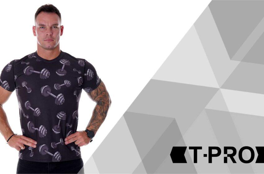 T-shirty męskie T-PRO – jak dobre są nowe koszulki w sklepie Poundout!?